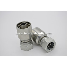 Flexible hose hydraulic one piece pipe fitting