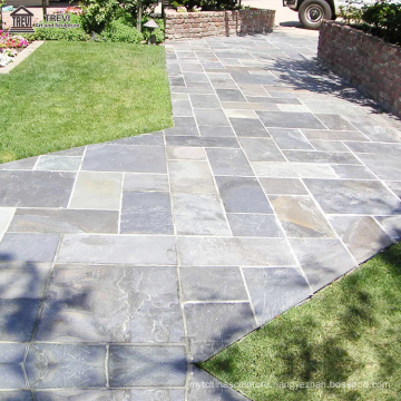 Factory Supply Square Nuaural Marble Paving Stone Outdoor Garden Driveway
