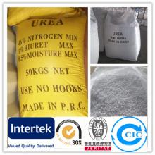 Fertilizante de urea y granulado Ure Rea N46% con prueba SGS