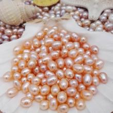 6-7mm Natural Freshwater Cultured Pearl Beads
