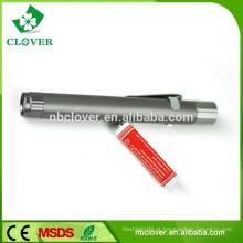 Liga / Desliga liga de alumínio 1 levou luz de trabalho de forma de caneta