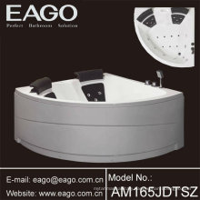 Corner Acrylic whirlpool Massage bathtubs/ Tubs with removable skirt