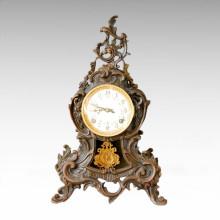 Статуя часов Европейская колокольня бронзовая скульптура Tpc-025