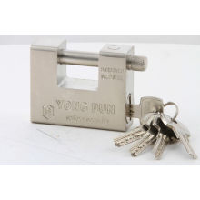 Cheap Hardened Solid Steel Rectangular Padlock