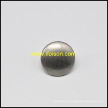 Куполообразной формы цинкового сплава хвостовик кнопка