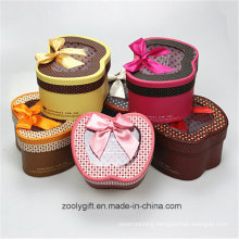 Printed Apple Shaped Paper Gift Boxes