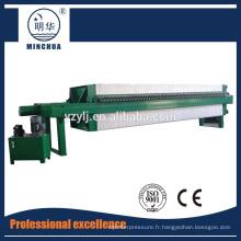 1250 Presse-filtre automatique à chambre automatique pour eaux usées