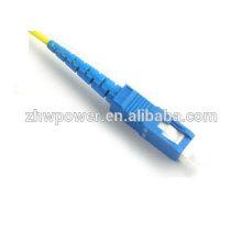 Preço de fábrica singlemode simplex fibra óptica sc pigtail, pigtail de alta qualidade Pigtail Simplex