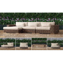 BORA BORA - New Collection UV resistance Wicker PE Rattan Outdoor Living Sofa Sets for Garden Furniture