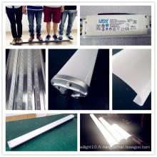 Appareils d'éclairage tri-preuve imperméables serrés de la vapeur 4FT LED