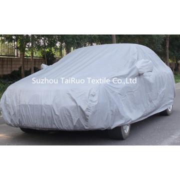 Cubierta del coche de 100% poli tafetán con recubrimiento de plata