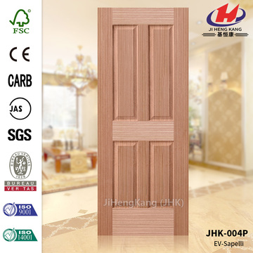 EV Sapelli HDF Moulded Veneer Door Skin