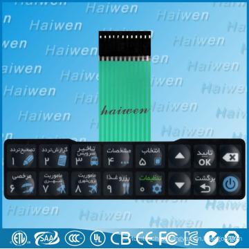 Interruptor impermeável botão de preço bom com adesivo 3M