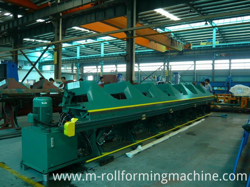 6 meters galvanized sheet bending machine