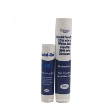 50g 100g hair care hotel plastic tube packaging