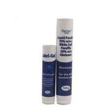 Embalagem do tubo plástico do hotel do cuidado de cabelo de 50g 100g