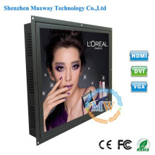 5: 4 de resolução 1280X1024 tipo embutido 19 polegada monitor LCD de quadro aberto