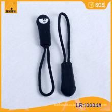 Personalizado de caucho de la bolsa / prenda cremallera tirador LR10004