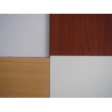 Placa de partícula revestida de melamina para mobiliário doméstico