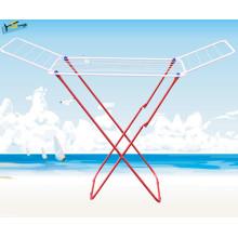 Chine Support pliable de cintre de vêtements d'aile (sèche-linge pliable)