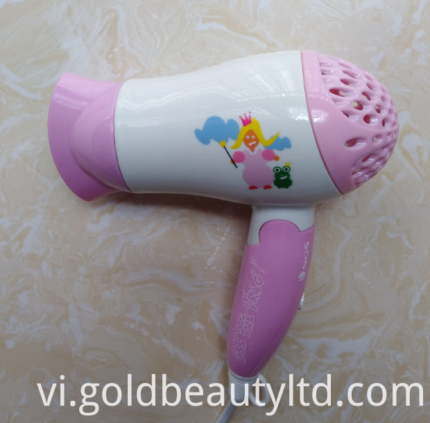 Foldable Lovely Children Hairdryer