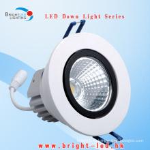CE RoHS Hogar blanco caliente LED Downlights