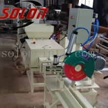Approved automatic wood sawdust pallet block making machine