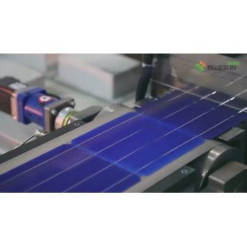 Blueusn 340w 350w 360w Photovoltaik-Sonnenkollektoren 5BB Schwarz Monopreis für Sonnenkollektor