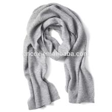 Cachecol de costela PK17ST283 Rib-knit cachecol de inverno preço de fábrica