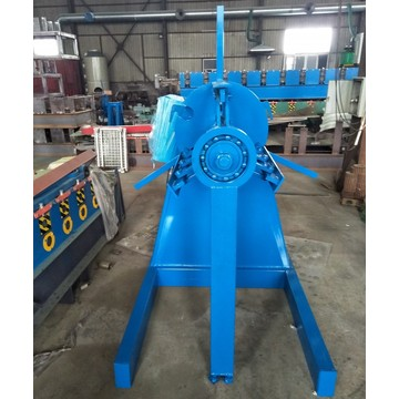 Five Tons Steel Coil Decoiler Machine