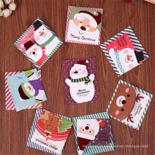 FQ marque pop-up papier découpé impression 3d joyeux Noël carte de voeux