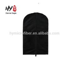 Portable stylish wholesale cotton fabric garment bag