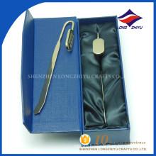 Wholesaler good price Chinese text metal blank bookmark