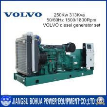 Power Plant 50/60Hz Volvo 313kVA Diesel Genertator Set