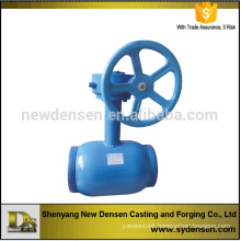 Densen offered underground 6 inch ball valve