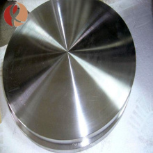 Precio de titanio tio2 target / disco de titanio Ti de alta calidad por