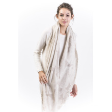 Brcwd-100% Cashmere Ladies′s Scarf -Cutting Style