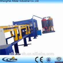 6m / 8m / 10m / 12m cadena de producción de la máquina del Panel de emparedado discontinuo PU (poliuretano)