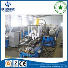Siyang unjo omega perfil de laminado en frío máquina formadora
