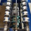 Máquina formadora de rollos trapezoidales para paneles de chapa para techos