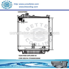 Ford Explorer Heizkörper 06 OEM: 6L248005AB / 6L2Z8005AA