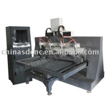 JK-3680 Wood CNC Machine with 4 spindles