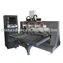 JK-3680 древесины CNC машина с 4 шпинделей