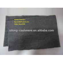 Kabel stricken Kaschmir-Schal