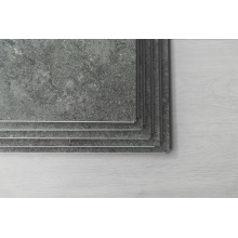 Revêtement de sol en vinyle à grain de pierre SPC gaufré