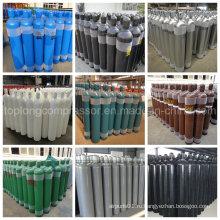 Бесшовный стальной кислород Водород Аргон Гелий CO2 Газовый баллон CNG Цилиндр (EN ISO9809 / GB5099)