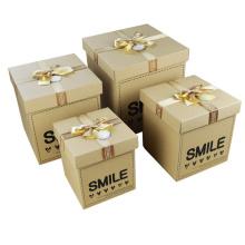E-Flute caixas de papelão ondulado / embalagem de papel Gift Box