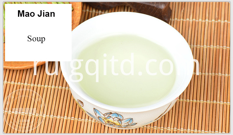 Healthy organic green tea Guzhang Maojian with retail packing