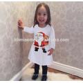 2017 mais recente menina natal tutu dress com branco e verde da árvore de natal da menina dress crianças clothing