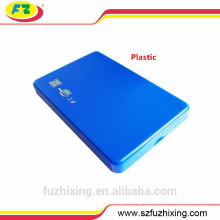 2.5 Plastique USB 2.0 HDD Caddy, Hard Drive Caddy